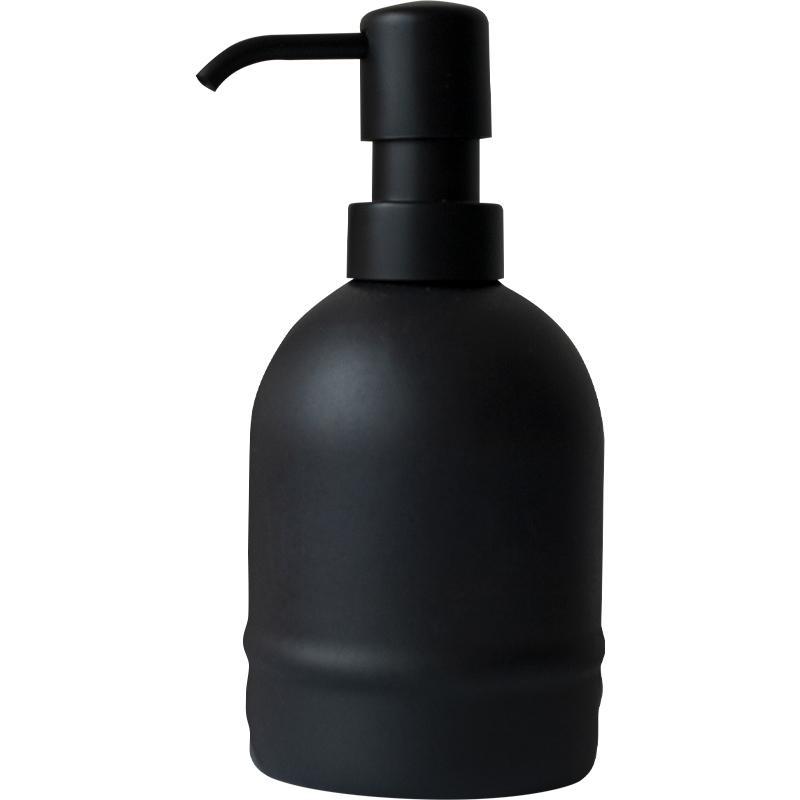 BALMORIA | Dispensador Negro para Crema